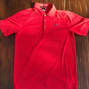 Nike golf tiger woods collection polo sz S